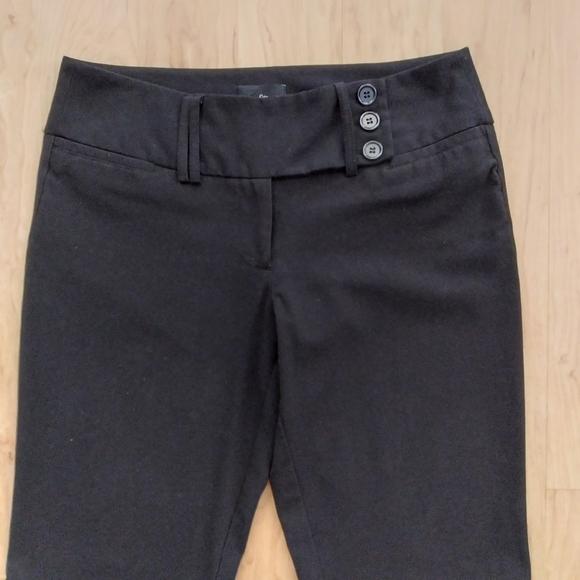 Black Boot Cut Dress Pants